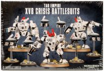 Tau Empire XV8 Crisis Battlesuits