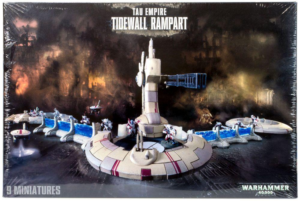 Купить Tau Empire Tidewall Rampart, Настольная игра Games Workshop