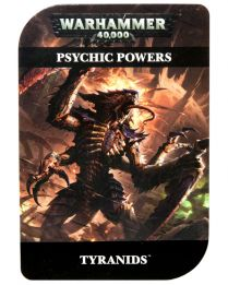 Psychic Cards: Tyranid