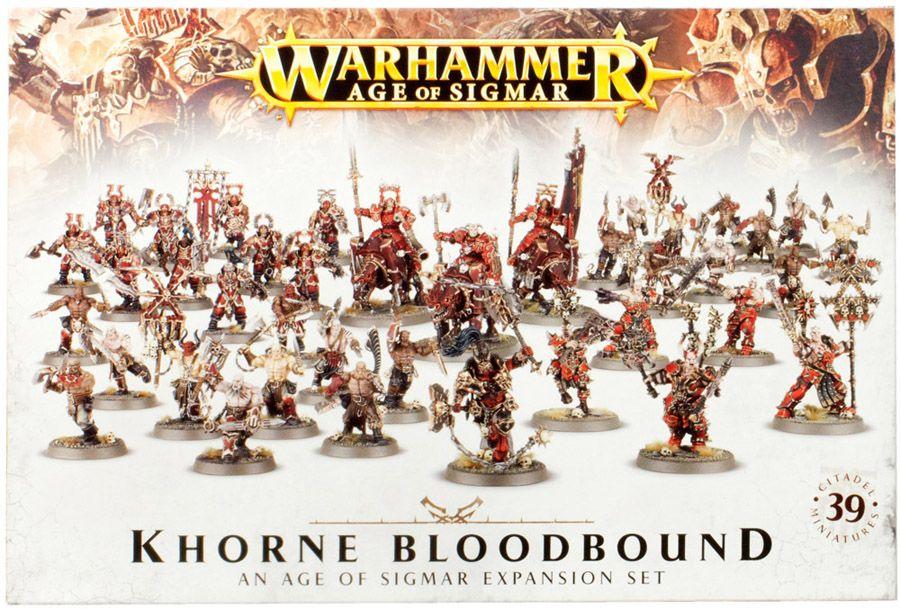 Купить Khorne Bloodbound Expansion Set, Настольная игра Games Workshop