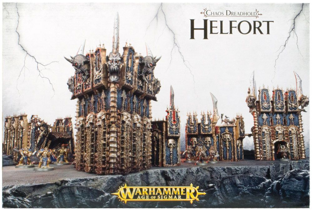 Купить Chaos Dreadhold Helfort, Настольная игра Games Workshop