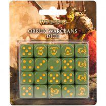 Age of Sigmar: Orruk Warclans Dice Set