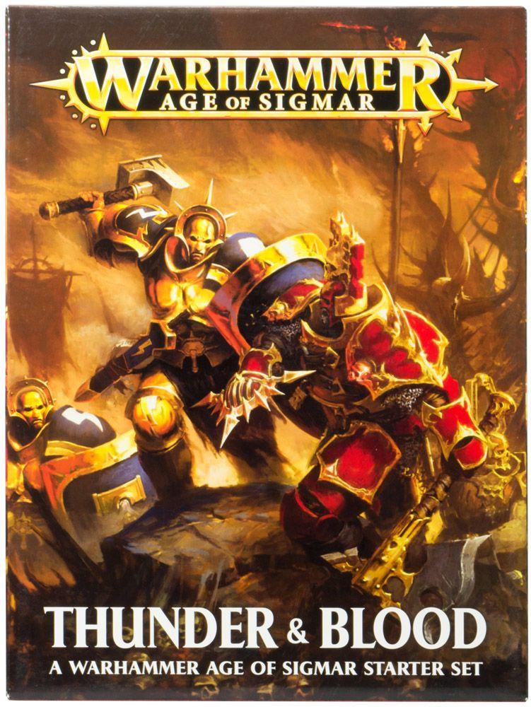 Купить Age of Sigmar: Thunder and Blood (eng), Настольная игра Games Workshop