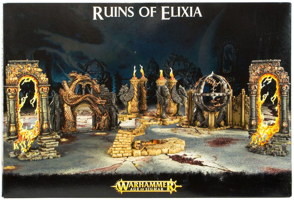 Купить Age Of Sigmar: Ruins Of Elixia, Настольная игра Games Workshop