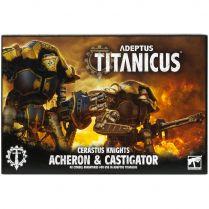 Adeptus Titanicus Cerastus Knights Acheron and Castigator