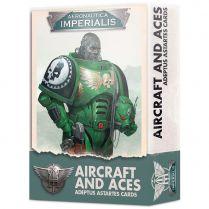 Aeronautica Imperialis: Adeptus Astartes Aircraft and Aces Cards