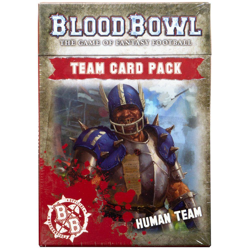 Аксессуар Games Workshop(Blood Bowl: Human Team Card Pack)