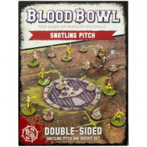 Blood Bowl: Snotling Team Pitch and Dugouts