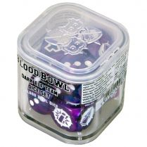 Blood Bowl: Dark Elf Team Dice Set