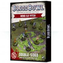 Blood Bowl: Wood Elves Pitch and Dugouts
