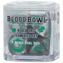 Blood Bowl: Black Ork Team Dice Set