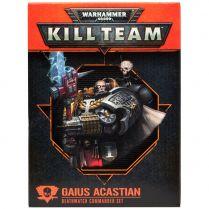 Kill Team: Deathwatch Commander Set. Gaius Acastian