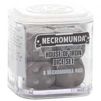 Necromunda: House of Iron Dice Set