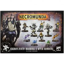 Necromunda: Escher Death Maidens and Wyld Runners