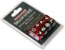 Warhammer Underworlds Shadespire: Khorne Bloodbound Dice