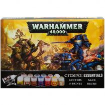 Набор Красок: Warhammer 40,000 Citadel Essentials Set