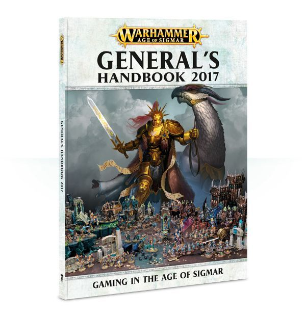 Купить Age of Sigmar: General's Handbook (English), Настольная игра Games Workshop