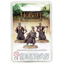The Hobbit Miniatures: Mirkwood Armoured Bowmen