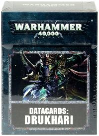 Datacards: Drukhari 8th edition