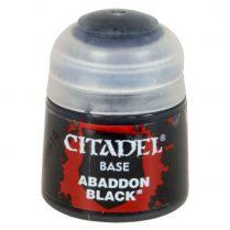 Краска Base: Abaddon Black