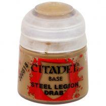 Краска Base: Steel Legion Drab
