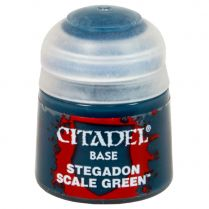 Краска Base: Stegadon Scale Green