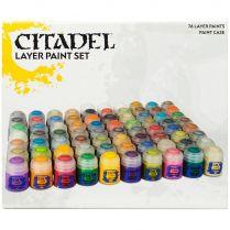 Набор красок: Citadel Layer Paint Set (2017)