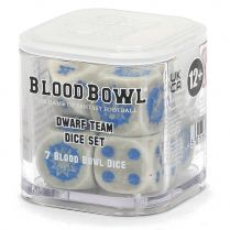 Blood Bowl: Dwarf Team Dice Set