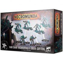 Necromunda: Van Saar Archeoteks and Grav-Cutters