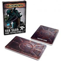 Necromunda: Van Saar Gang Tactics Cards