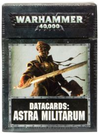 Datacards: Astra Militarum 8th edition