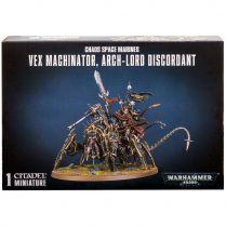 Chaos Space Marines Vex Machinator, Arch-Lord Discordant