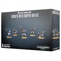 Space Marines Scouts with Sniper Rifles