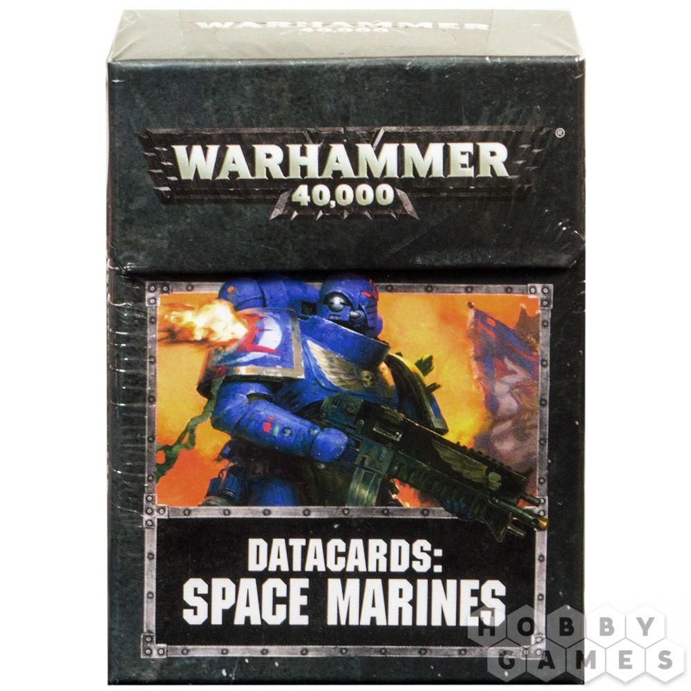 Games Workshop New Warhammer 40k Unopened Datacards Ultramarines
