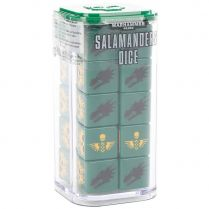 Salamanders Dice Set
