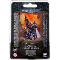 Space Marines Captain in Phobos Armour