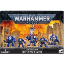 Space Marines Terminator Squad