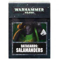 Datacards: Salamanders 8th edition