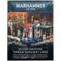 Battlezone: Manufactorum. Datasheet Cards