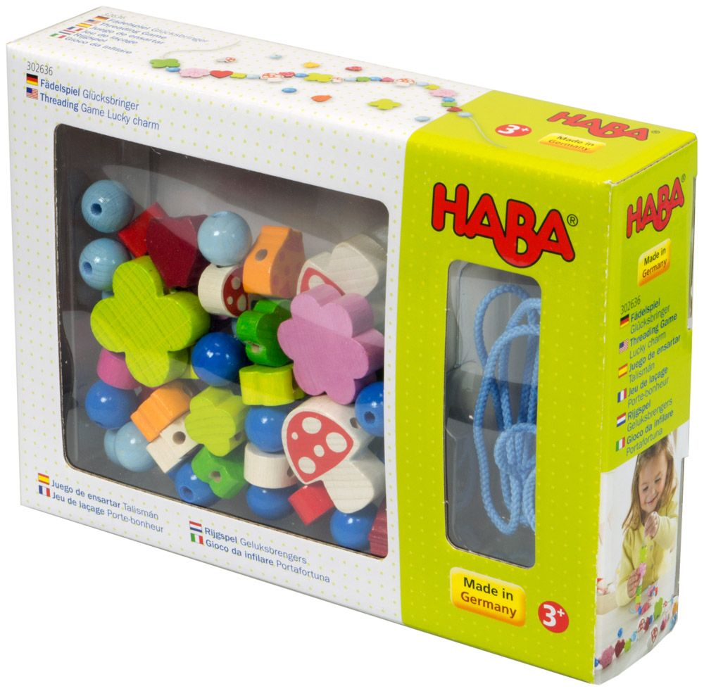 Купить Игра-шнуровка Удачное обаяние , Настольная игра HABA