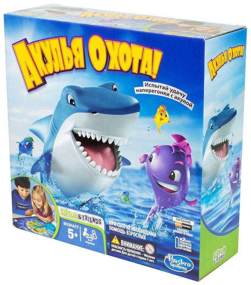 Купить Акулья охота, Настольная игра Hasbro