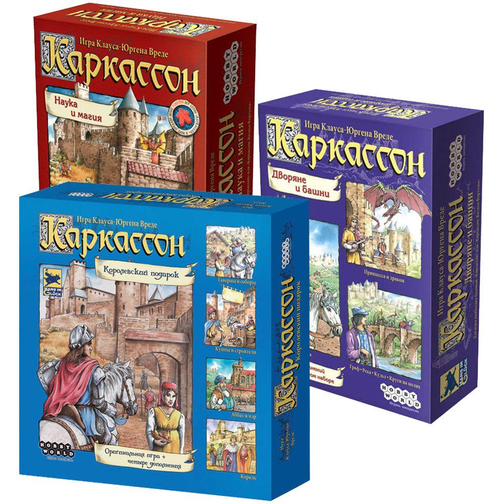Купить Средневековое королевство, Настольная игра Hobby World