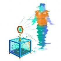 Голограмма ведущего для объяснения правил