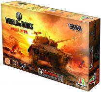 World of Tanks. M24 CHAFFEE. Масштабная модель 1:35 (Сборный танк)