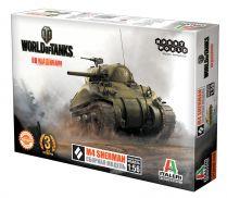 World of Tanks. Сборная модель танка M4 Sherman в масштабе 1:56 (1-е изд.)