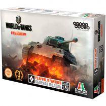 World of Tanks. Сборная модель танка Pz.Kpfw. V PANTHER в масштабе 1:56 (1-е изд.)