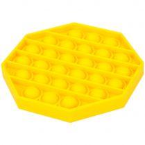 Игрушка-антистресс Pop It Восьмиугольник (жёлтая)