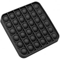 Игрушка-антистресс Pop It Квадрат (чёрная)