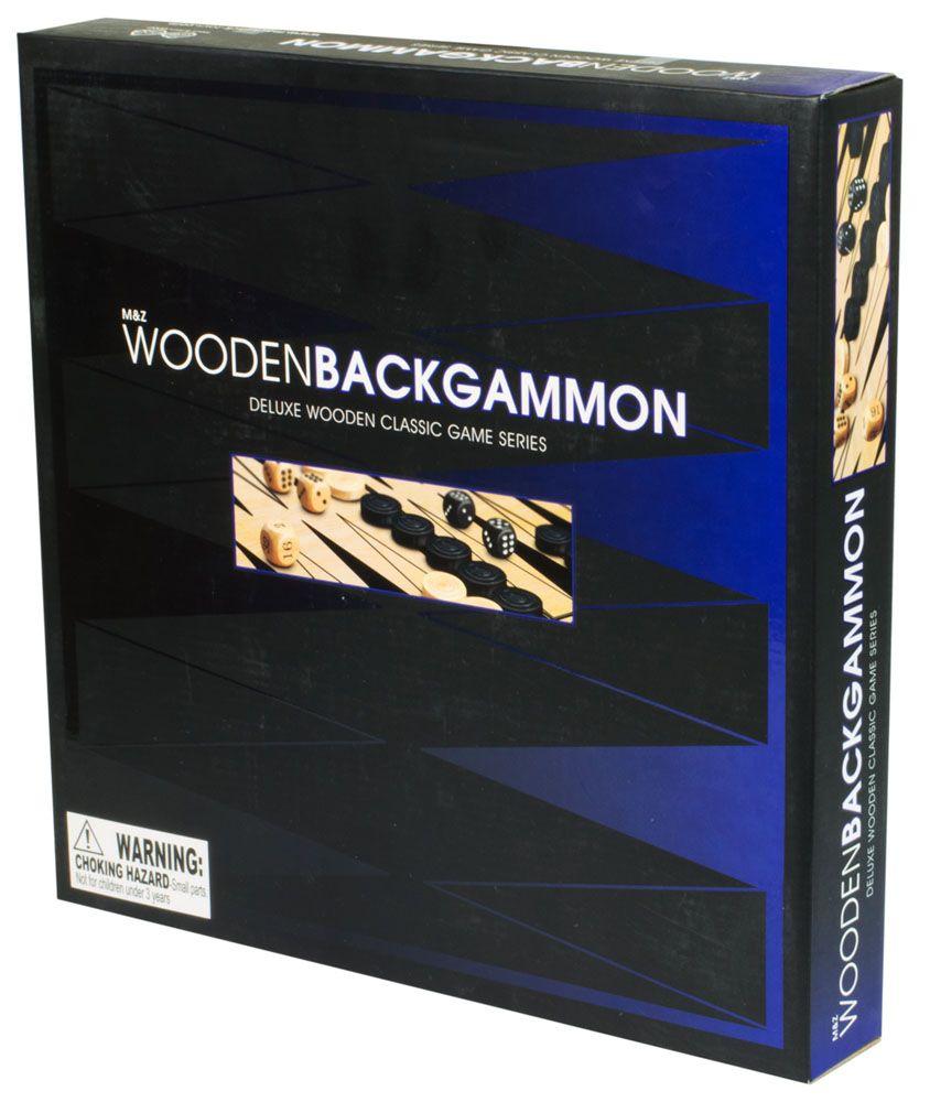 Купить Нарды деревянные, Настольная игра Mack & Zack