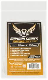 Протекторы Mayday (100 шт., 65x100 мм): стандарт прозрачные